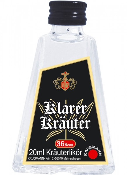 Krugmann Klarer Kräuter Miniatur 0,02 L