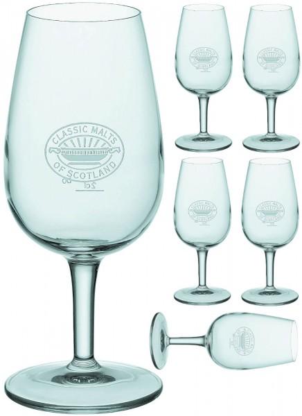Classic Malt Nosing Gläser 6 Stück