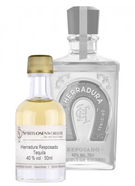 Herradura Reposado Tequila Tastingminiatur 0,05 L