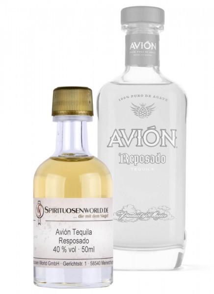Avion Tequila Reposado Tastingminiatur 0,05 L