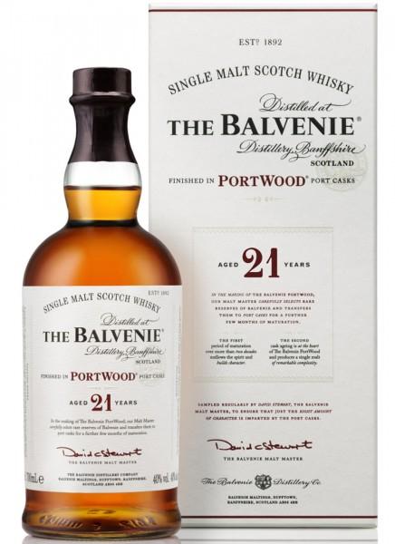Balvenie 21 Years Port Wood Finish Single Malt Scotch Whisky 0,7 L