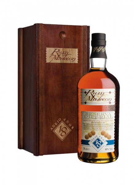 Malecon Reserva Imperial 18 Anos Rum in Holzbox 0,7 L