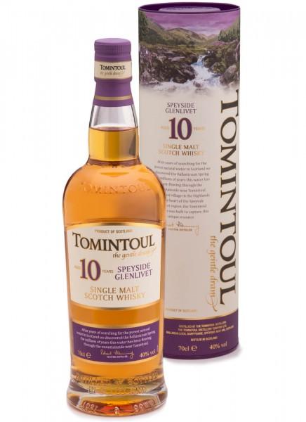 Tomintoul Singel Malt Whisky 10 Jahre 0,7 L