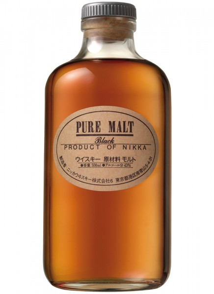 Nikka Pure Malt Black Whisky 0,5 L