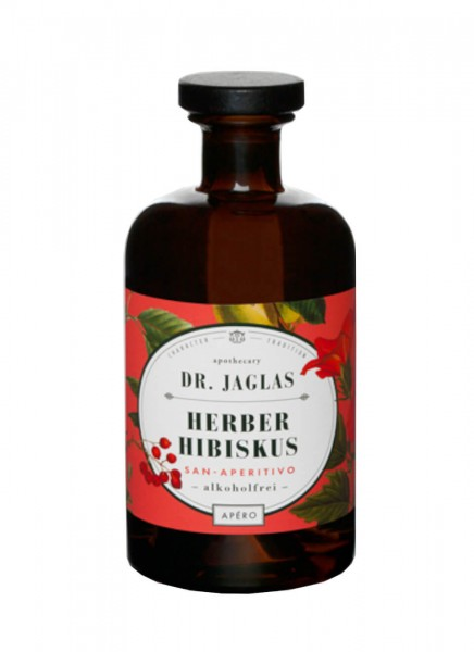 Dr. Jaglas Herber Hibiskus Alkoholfrei 0,5 L