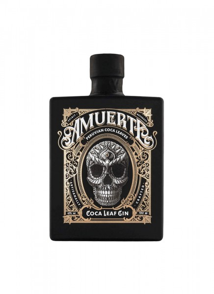 Amuerte Coca Leaf Gin - Black Edition 0,7 L