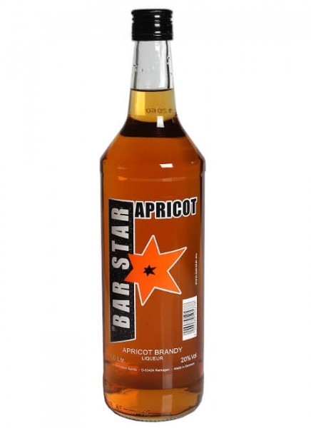 Bar Star Apricot Brandy 1 L