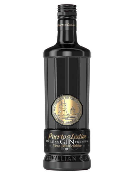 Puerto de Indias Pure Black 0,7 L