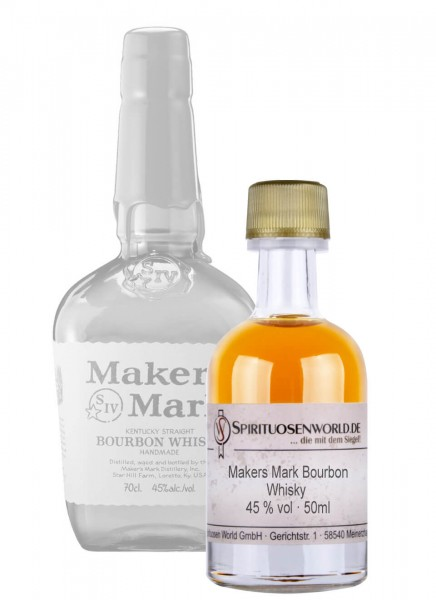 Makers Mark Bourbon Whisky Tastingminiatur 0,05 L