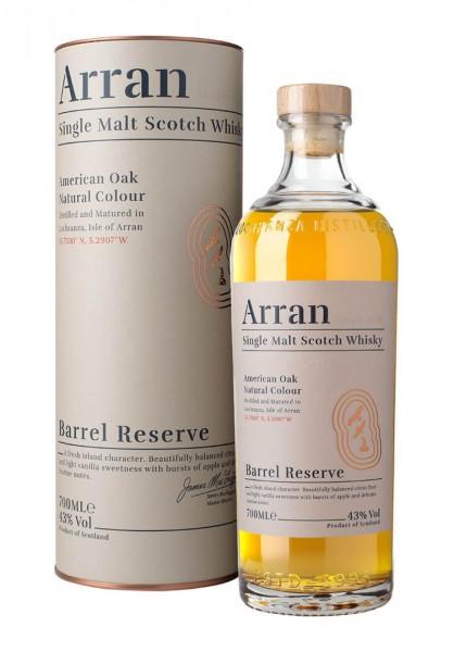 Arran Single Malt Scotch Whiskey American Oak Natural Colour Barrel Reserve 0,7 L