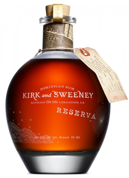 Kirk and Sweeney Reserva Rum 0,7 L