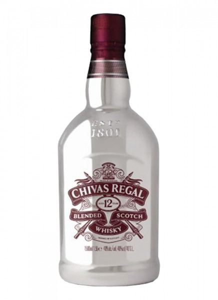 Chivas Regal 12 Years Night Bottle Blended Scotch Whisky 1,5 L