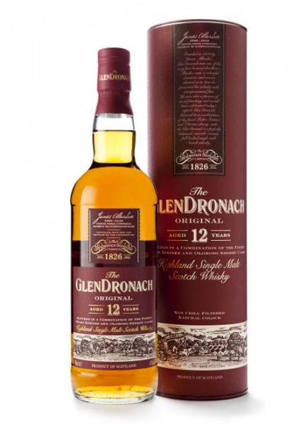 GlenDronach Original 12 Jahre Whisky 0,7 L
