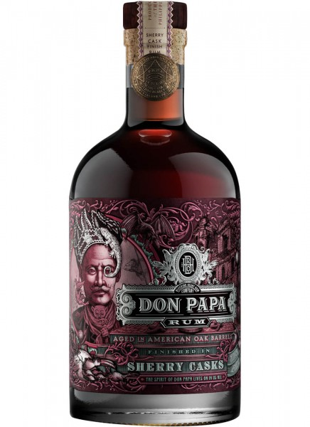 Don Papa Sherry Cask Rum 0,7 L