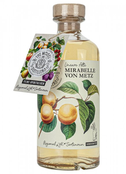 The Mosel Distillers Mirabelle von Metz 0,5 L