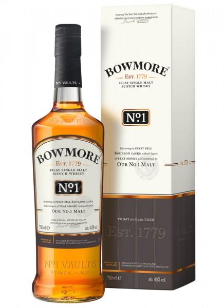 Bowmore No. 1 Islay Single Malt Scotch Whisky 0,7 L