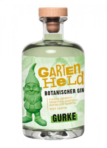 Gartenheld Gurke Botanischer Gin 0,5 L