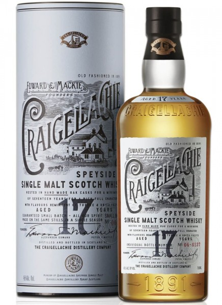 Craigellachie 17 Years Whisky 0,7 L