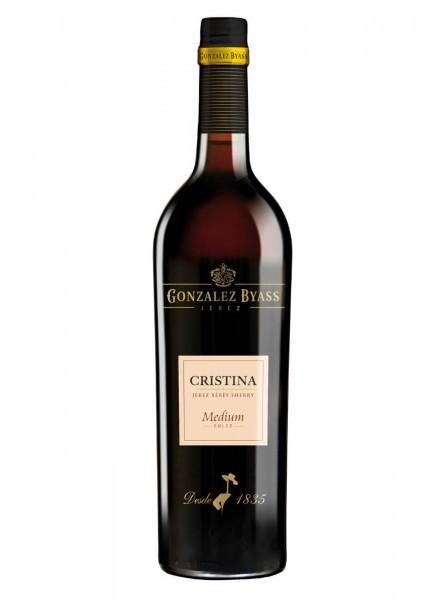 González Byass Cristina Medium Sherry 0,75 L