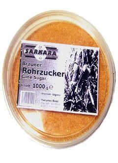 Brauner Rohrzucker Sarkara 1 kg