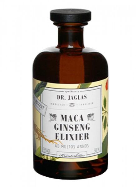 Dr. Jaglas Maca Ginseng-Elixier Kräuterbitter 0,5 L