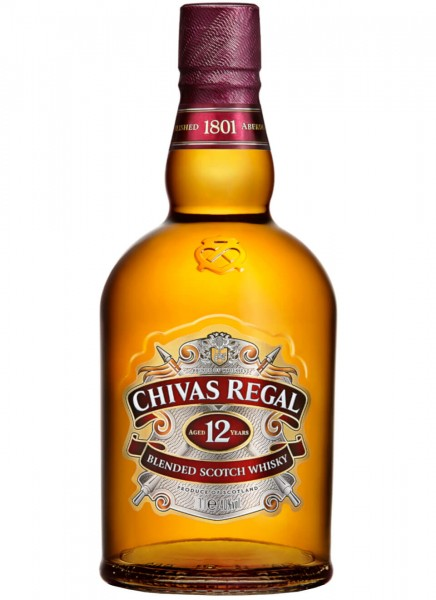 Chivas Regal 12 Years Blended Scotch Whisky 1 L