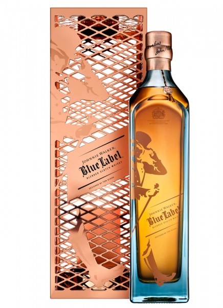Johnnie Walker Blue Label Tom Dixon Capsule Series Blended Scotch Whisky 0,7 L
