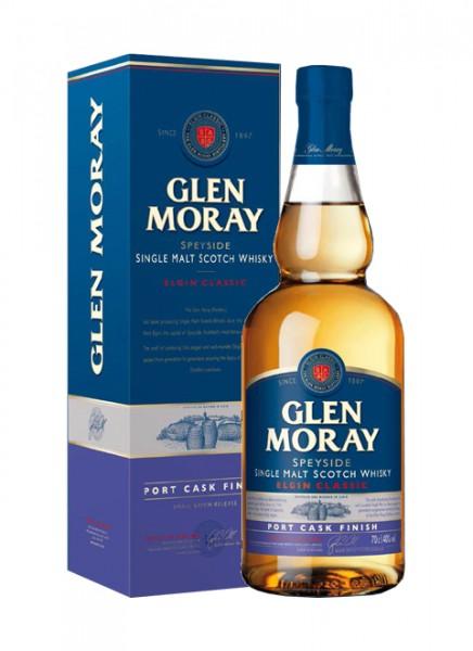 Glen Moray Port Cask Finish Whisky 0,7 L
