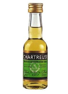 Chartreuse grün Kräuterlikör Mini 0,03 L