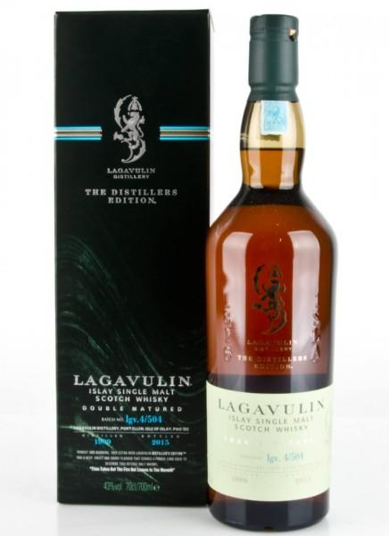 Lagavulin Distillers Edition 1999-2015 Islay Whisky 0,7 L