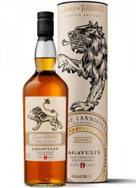 Lagavulin 9 Years Game of Thrones Edition Islay Whisky 0,7 L