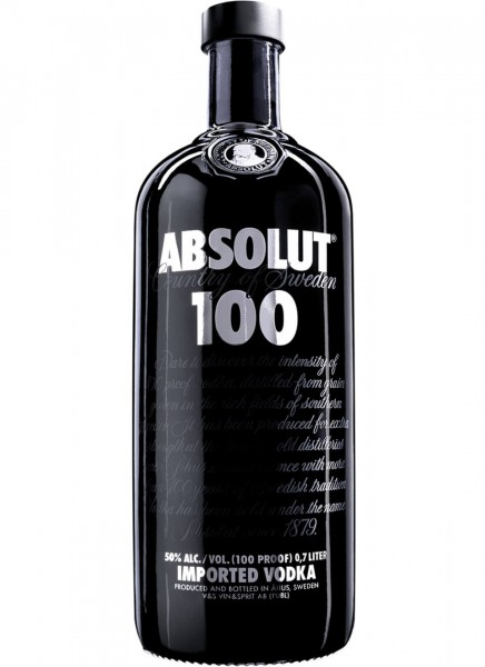 Absolut Vodka 100 0,7 L