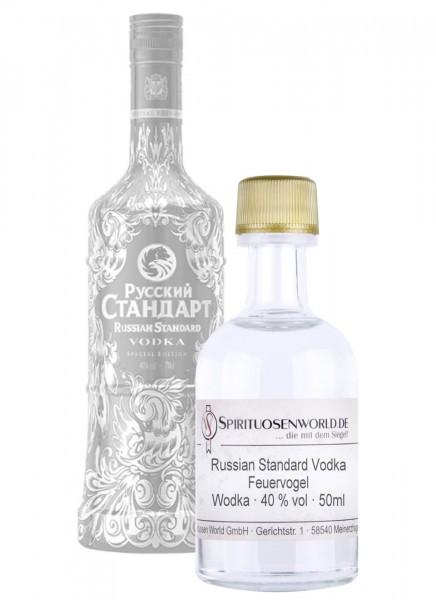 Russian Standard Vodka Feuervogel Tastingminiatur 0,05 L