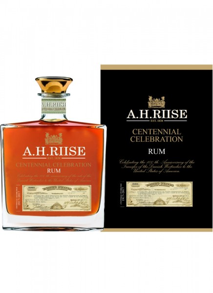 A.H. Riise Centennial Celebration Rum 0,7 L