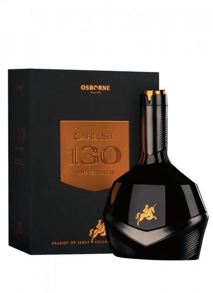 Carlos I 130 Aniversario Brandy Limited Edition 0,7 L