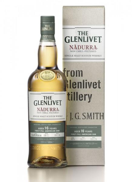 The Glenlivet Nadurra 16 Years Cask Strenght Whisky 0,7 L