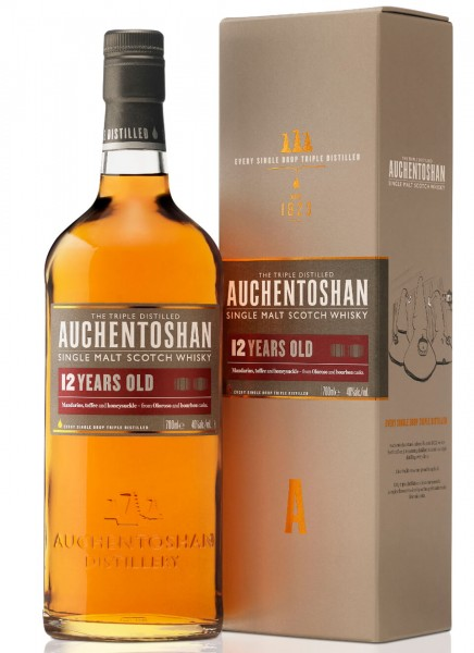 Auchentoshan 12 Years Single Malt Scotch Whisky 0,7 L