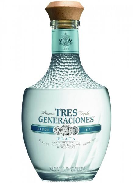 Sauza Tres Generaciones Plata Tequila 0,7 L