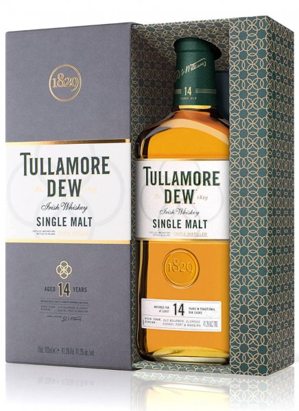 Tullamore Dew 14 Years Irish Whiskey Single Malt 0,7 L