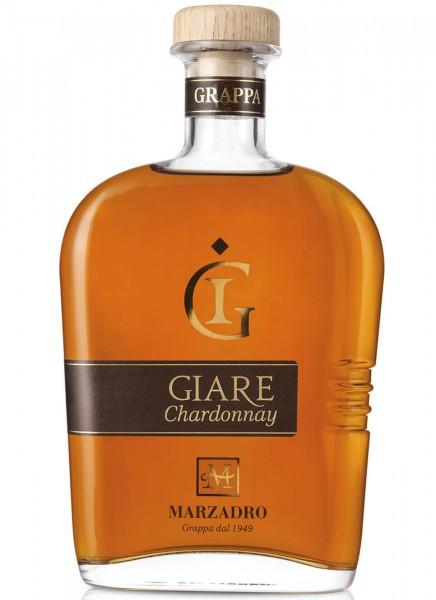 Marzadro Le Giare Chardonnay Grappa 0,7 L