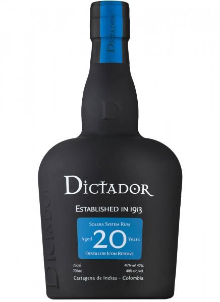 Dictador 20 Years Rum 0,7 L