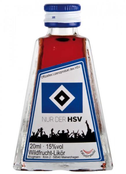 Krugmann Nur der HSV Mini Likör 0,02 L