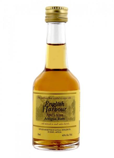English Harbour 5 Jahre Rum Miniatur 0,05 L