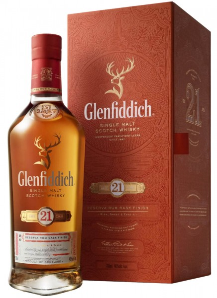 Glenfiddich 21 Years Single Malt Scotch Whisky 0,7 L