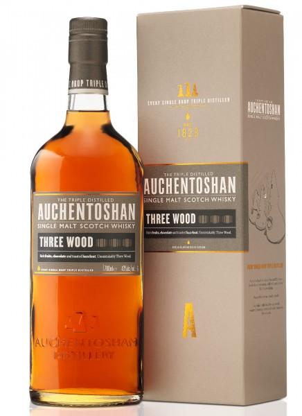 Auchentoshan Three Wood Single Malt Scotch Whisky 0,7 L