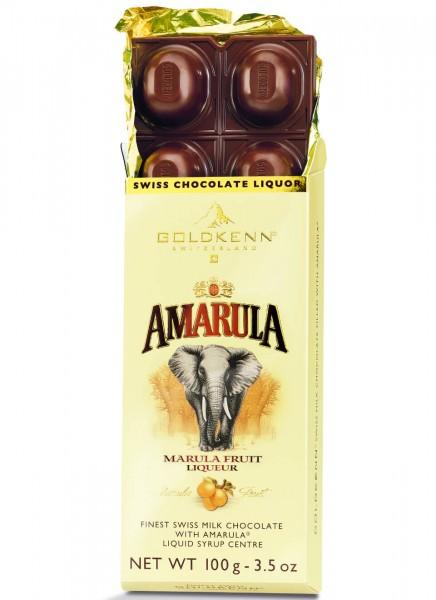 Schokolade Amarula Likör Goldkenn 0,1 Kg