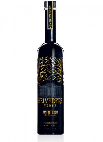Belvedere Vodka Unfiltered Rare Diamond Rye 0,7 L