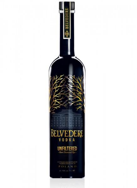 Belvedere Vodka Unfiltered Rare Diamond Rye 0,7 L