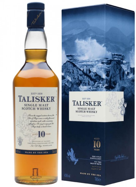 Talisker 10 Years Classic Malt Single Malt Scotch Whisky 0,7 L