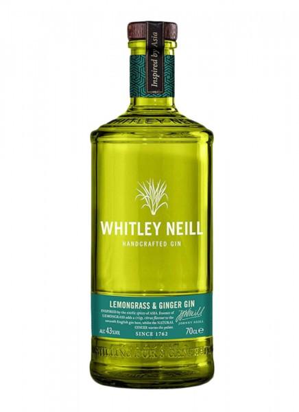 Whitley Neill Lemongrass Ginger Gin 0,7 L